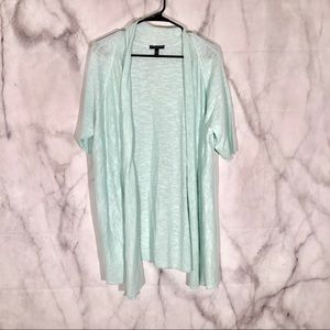 Eileen Fisher Sweaters - Eileen Fisher mint cardigan sz. 1x